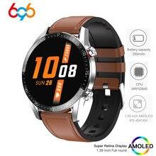 G5 relógio inteligente das mulheres dos homens 1.39 polegada amoled tela redonda 454*454 smartwatch pressão arterial de oxigênio à prova dip68 água ip68 para ios android