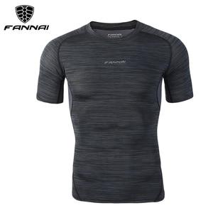 Image 3 - FANNAI combinaison de Sport pour homme, le Running, le Fitness, le Fitness, séchage rapide