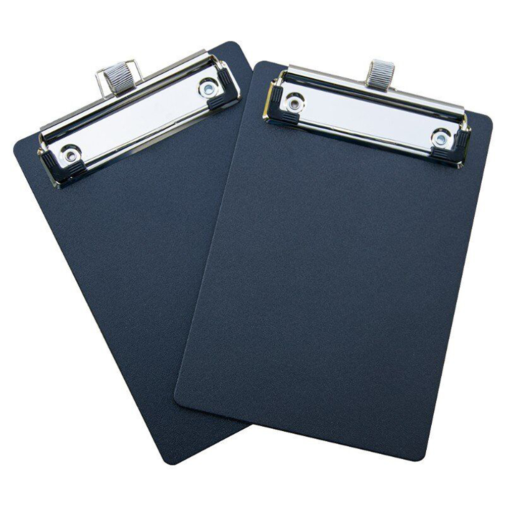 Plastic Clipboards Clipboard (Black) Strong Inch | Holds Paper Sheets PP Clipboards With Low Profile Clip