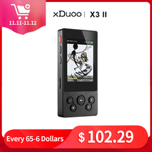 xDuoo X3II X3 ii hi fi player mp3 portable mp3 player bluetooth lossless music player dsd hi res bluetooth player flac wav