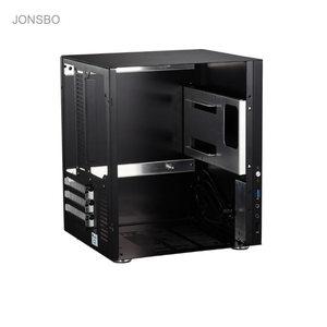 Jonsbo C2 настольный мини ПК чехол для компьютера USB3.0 маленькое шасси из алюминиевого сплава красного цвета C2S HTPC ITX High Quilty