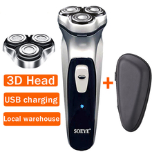 Xiaomi Electric shaver for men razor Shaving machines beard trimmer Rechargeable 3head electric razor form youpin 4
