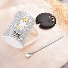 Good Morning Cute Ceramic Mug with Lid Tea Milk Coffee Mug Cup Home School Kids Drinkware Waterware Gift good morning cute ceramic mug with lid tea milk coffee mug cup home school kids drinkware waterware gift