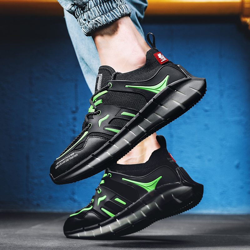 Tapis de course chaussures pour hommes grande taille lame rebond hommes chaussures de sport en plein air chaussures décontractées respirantes chaussures de course Zapatos Hombre
