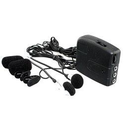 Kask motocyklowy słuchawki zmodyfikowany GPS MP3 kask motocyklowy domofon akcesoria do zestawu słuchawkowego 3.5mm wtyczka