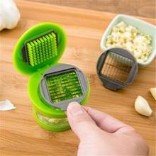 Chopper Slicer Garlic Grater Hand-Presser Stainless-Steel Crusher Grinder Kitchen-Tool