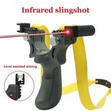 Fionda da caccia professionale con strumento di alta precisione di livello per palline da fionda per catapulta all'aperto