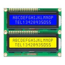 Модуль ЖК-дисплея HD44780, 3,3 В, 5 В, 1602 дюйма, 16x2, желтый или синий экран, адаптер IIC для проекта SPI или Paraller 51 STM MCU UNO