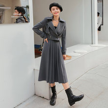 Модные женские костюмы yigelila элегантные серые комплекты из