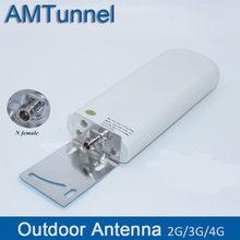 Antena exterior 20 anten25dbi da antena gsm do modem das antenas 4g 4g da antena 3g 4g antena exterior do modem para o modem móvel do roteador do impulsionador do sinal
