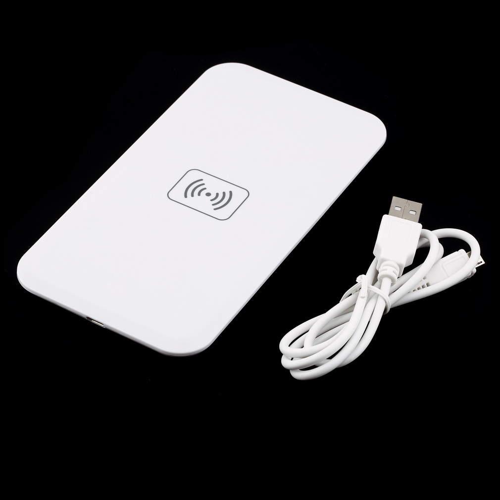 Galleria fotografica Qi Standard Caricabatterie Wireless Pad di Ricarica Universale per iPhone/Samsung/<font><b>Nokia</b></font>/LG/Google Mobile Phone