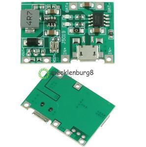 Micro USB 3.7V Lithium Li-ion 18650 Battery Charger Module Boost Step Up 5V 12V