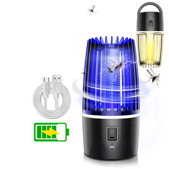Mosquito killer USB electric mosquito killer Lamp Photocatalysis mute home LED bug zapper insect trap Radiationless No Noise