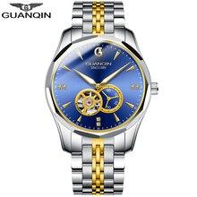 GUANQIN 2020 Business Watch Men Automatic Japan Men Tungsten Steel Waterproof Fa