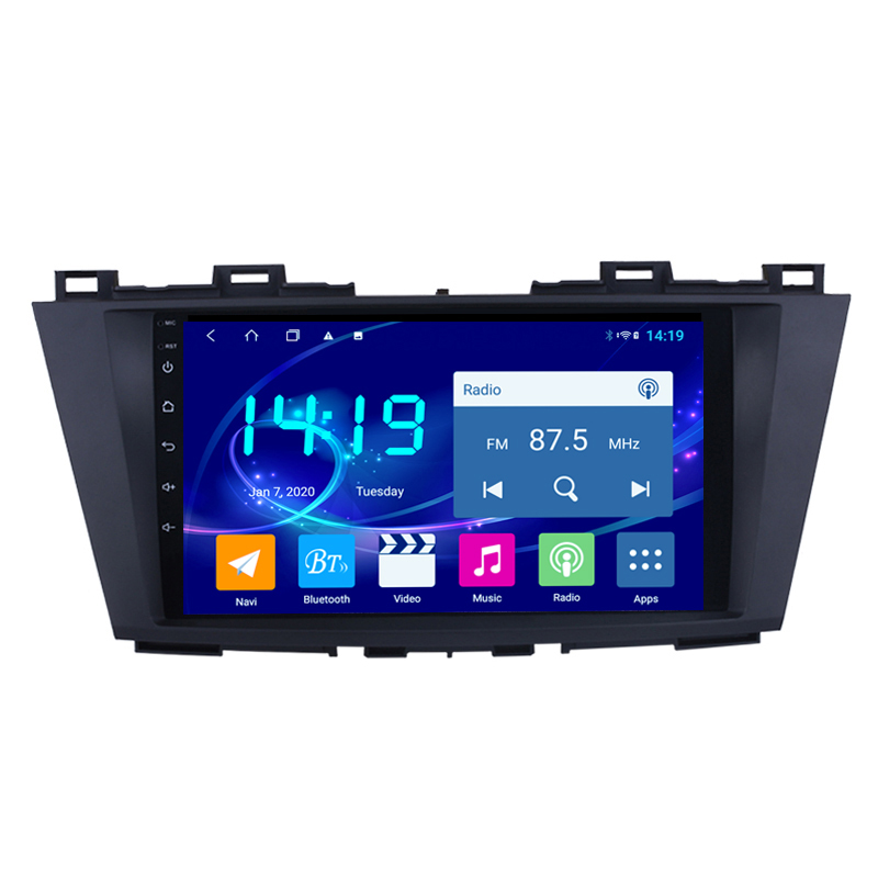 For Mazda 5 3 CW 2010 2011 2012 2013 2014 2015  2 Din Car Radio Multimedia Video Player Navigation GPS Android