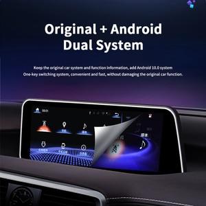 Image 5 - 4 + 64 Android 10 NX 300H รถมัลติมีเดีย Player วิทยุสำหรับ Lexus NX200 2018 NX300H NX200T GPS นำทาง autoradio 2 Din Head Unit