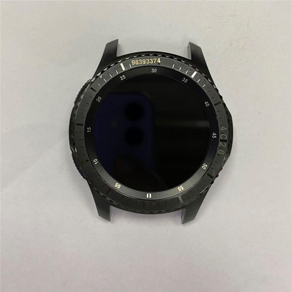 Montagem da Tela do Relógio Inteligente com Peças de Reparo do Escudo para Samsung Original Desmontar Gear – Sm-r765 Assista Tela Lcd s3 Sm-r760