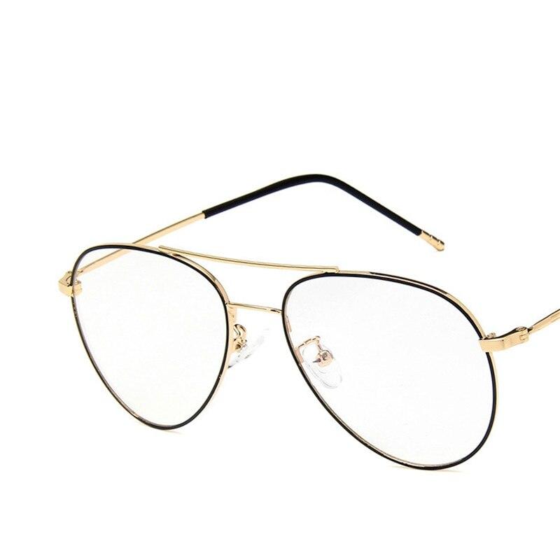 CUBOJUE 148mm Aviation Oversized Glasses Men Women Diopter Myopia Optical Prescription Gold Men's Progressive Anti Blue Light