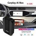 Carplay Ai MMB Android Автомагнитола IOS CarPlay Android мультимедийные видеоплееры 4 + 32G беспроводная зеркальная ссылка навигация ТВ приставка
