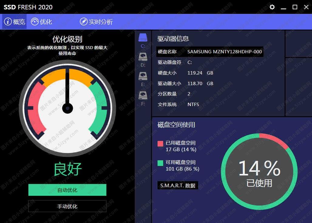 Abelssoft SSD Fresh固态硬盘SSD一键延长寿命工具