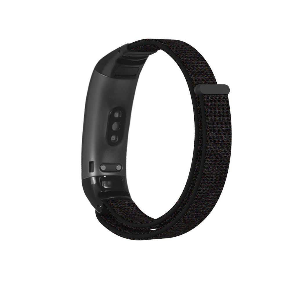 Alta calidad para Huawei Honor Band 5 4 Smartwatch pulsera Fitness banda Nylon reemplazo correa de muñeca correa para hombres y mujeres
