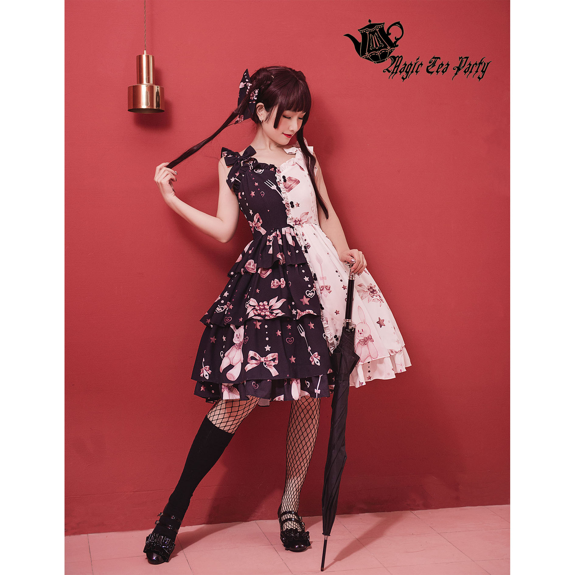 Chocolate Rabbit Lolita Double Colors Dress 2