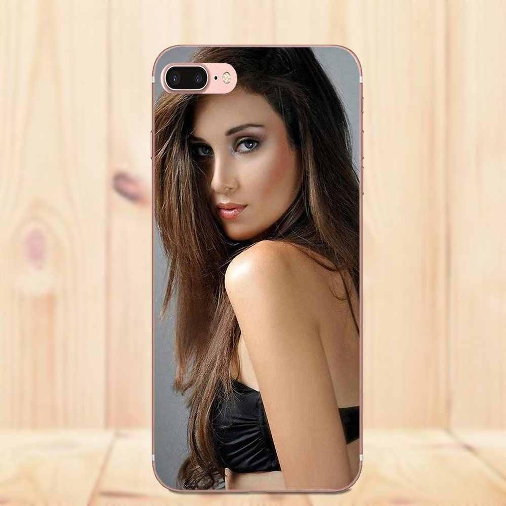 لينة المطاط جراب هاتف مرآة الظل مثير فتاة ل LG نيكزس 5 5X G2 G3 البسيطة الروح G4 G5 G6 K4 K7 K8 K10 2017 V10 V20 V30 ستايلس