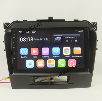 9 octa-core 1280*720 QLED screen Android 10 Car GPS radio Navigation for Suzuki Vitara 2016 with 4G/Wifi DSP carplay image