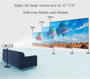 Image 4 - قوية Q5 جهاز عرض صغير 2600 لومينز 800*600 ديسيبل متوحد الخواص دعم 720P LED المحمولة السينما المنزلية أندرويد اللاسلكية مزامنة عرض للهاتف