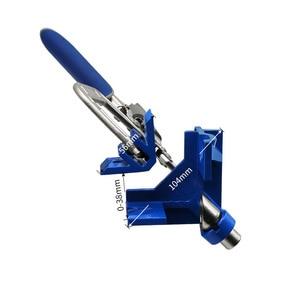 Image 4 - ไม้ quick คีม clamp มุมขวาคลิป splint 90 องศา T clamp เสริม fixture คลิปงานไม้ DIY เครื่องมือ