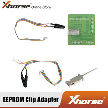 Xhorse – adaptateur Clip EEPROM pour programmeur PROG VVDI, pas de soudure nécessaire