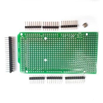 цена на Prototype PCB for Arduino MEGA 2560 R3 Shield Board DIY