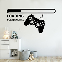 Creative Gamer Wallpaper Wall Stickers For Room Vinyl Decals Sticker Game Handle stickers muraux