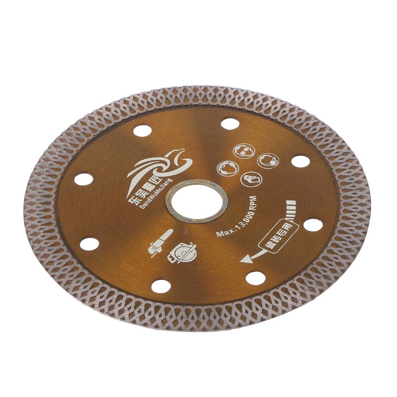 Diamond Saws Blade Hot Pressed Sintered Mesh Turbo Cutting Disc For Granite Marble Tile Ceramic D08F