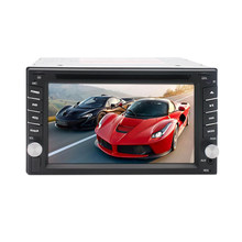 6.2Inch Double 2 DIN Mobil DVD CD MP5 Player Bluetooth Stereo GPS Navigasi Radio dengan Rear View Kamera(China)