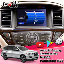 Video-Interface Nissan Pathfinder Gps Navigation Lsailt for R52 with QX50 QX60 Q70 QX80