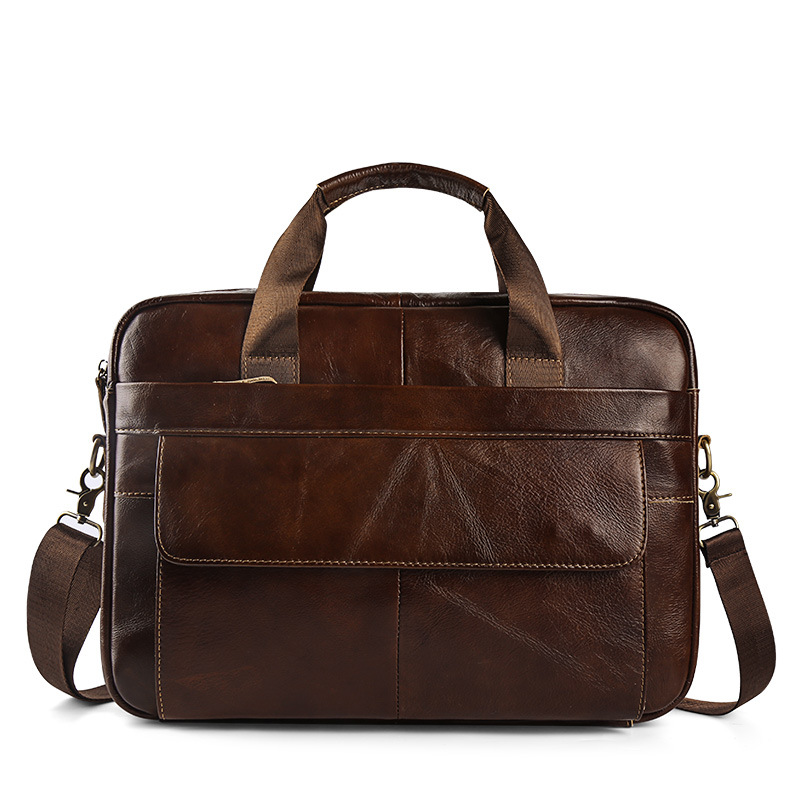 2019 Business Bag Briefcase Men Leather Messenger Bag Fashion Handbag Mens Tote Bags Man Casual Crossbody Briefcases