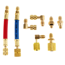 High Side Adapter Repair For R134A Refrigeration Air Conditioning Automobile Car Use Adapter Set Drop Shipping #724