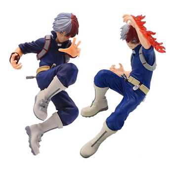 My Hero Academia Action Figure 16cm Todoroki Shoto Battle Version Amazing Hero Age of Heroes Anime Toys Collectible Model Gift new my hero academia todoroki shoto vinyl pvc action figure collection model children toys for kids birthday gift