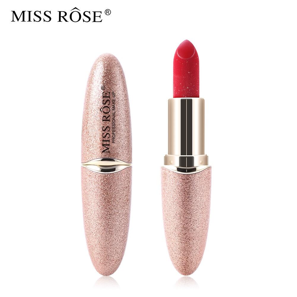 MISS ROSE Matte Lipstick Set Glitter Lipstick Korean Makeup Nutritious Waterproof / Water-Resistant Long-lasting