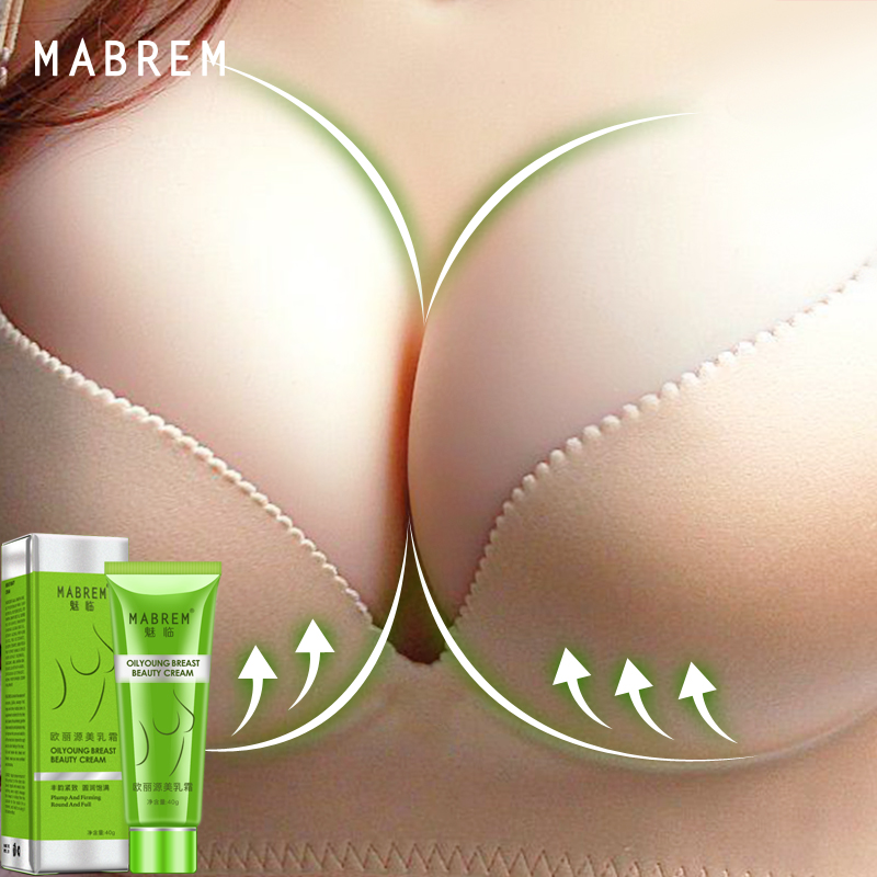 MABREM Breast Beauty Cream Breast Enhancer Chest Fast Growth Firming Cream Big Bust Effective Full Elasticity Breast Body Care