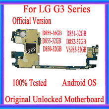 New Arrival Motherboard For LG G3 D850 D852 D851 D855 VS985 32GB Unlocked Mainboard With Full Chips Original Android OS System(China)