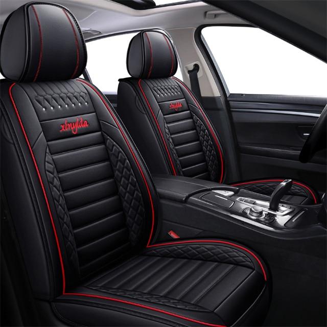 Universal Leather Car Seat Cover for Kia rio morning stinger niro cerato mohave sorento stonic soul sportage Seat Cover Interior 1