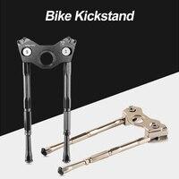 Portátil leve MTB Rode Bicicleta Apoio Para Os Pés de Bicicleta Mountain Bike Ajustável Kickstand