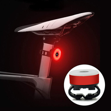 Bicycle Tail Light Mini Bike Rear Light Taillight Waterproof USB Rechargeable Flashlight Safety Warning Lights Bike Component