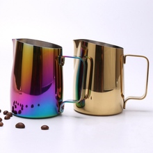 Milk Frothing Pitcher Stainless Steel Espresso Coffee Barista Craft Latte Cappuccino Cream Frothing Jug Pitcher 420ml