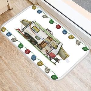 Image 4 - RV Wagon Non slip Bedroom Decoration Soft Carpet Kitchen Floor Living Room Floor Mat Bathroom Non slip Mat Door Mat 40x60cm   ..