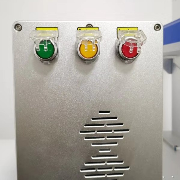 Fiber Laser Marking Machine With Rotary 30W Raycus Metal Engraving Machine 4