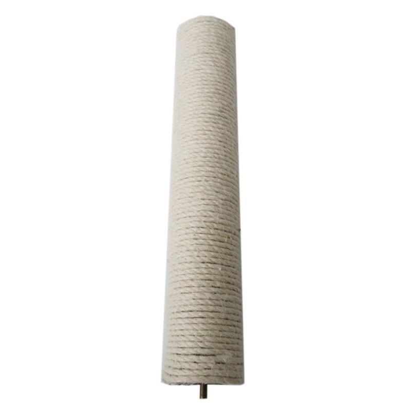 DIY Cat Scratch Pillar Sisal Rope for Repair Replacement Stripe Pad Carpet Toy Q39B