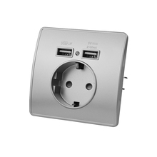 Socket Wall-Charger Pc-Panel Adapter-Charging-Wall Germany-Plug Power-Outlets-16a Electrical